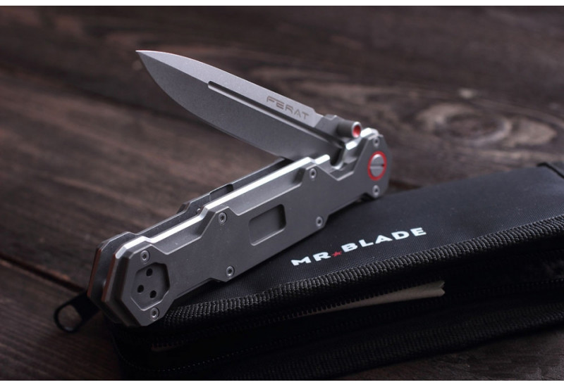 Складной нож Ferat M390 SW Titanium Handle (Limited Edition)