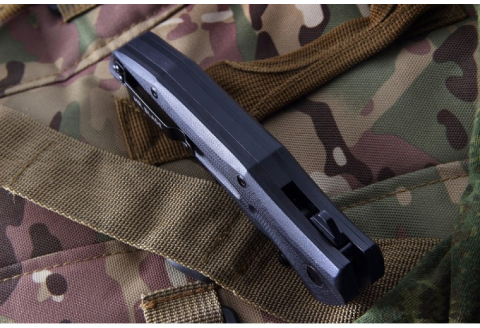 Складной нож HT-2 D2 Black