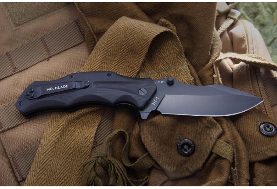 Складной нож HT-1 D2 Black