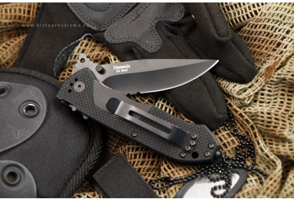 Складной нож Ground Zero Nemesis Black