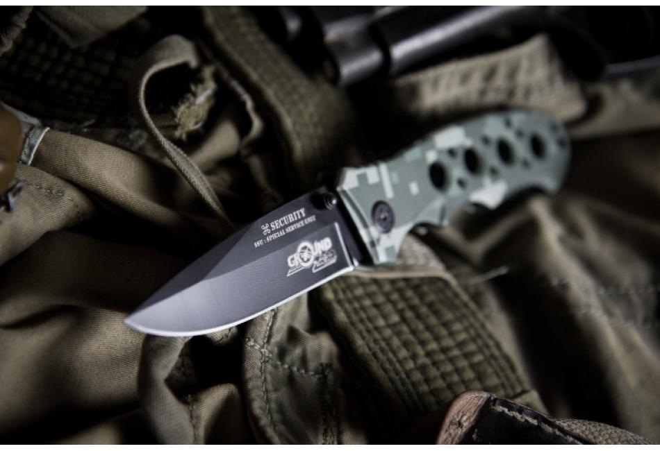 Складной нож Ground Zero Security