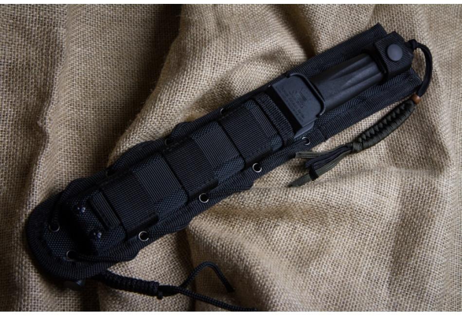 Нож Aggressor D2 Black Titanium
