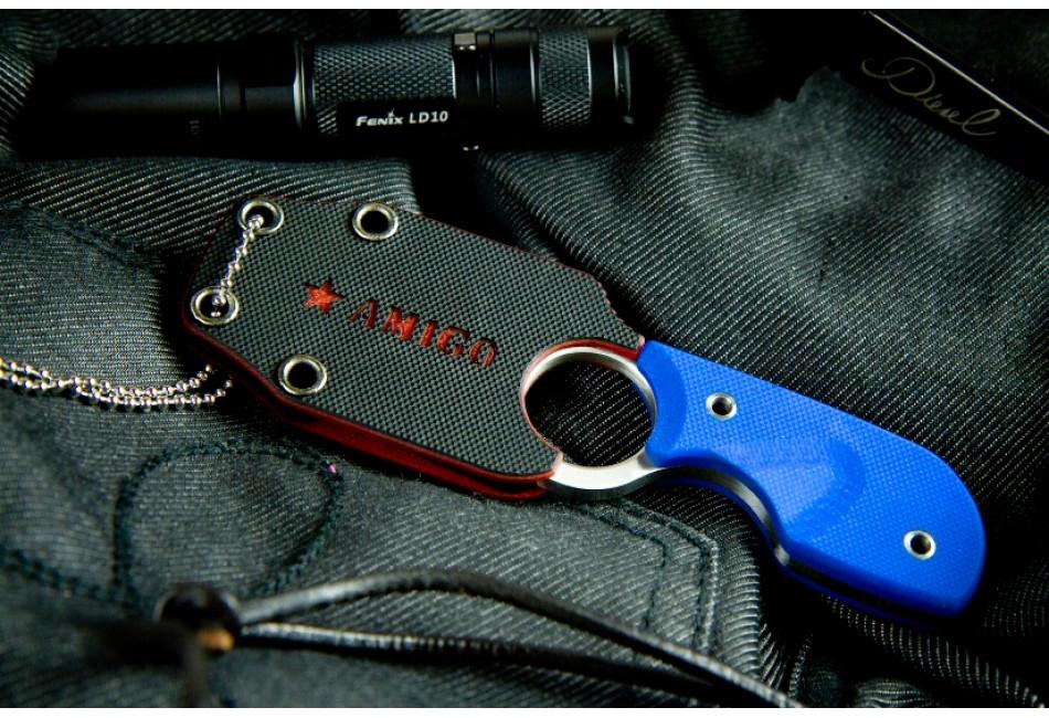 Шейный нож Amigo Z AUS-8 Satin