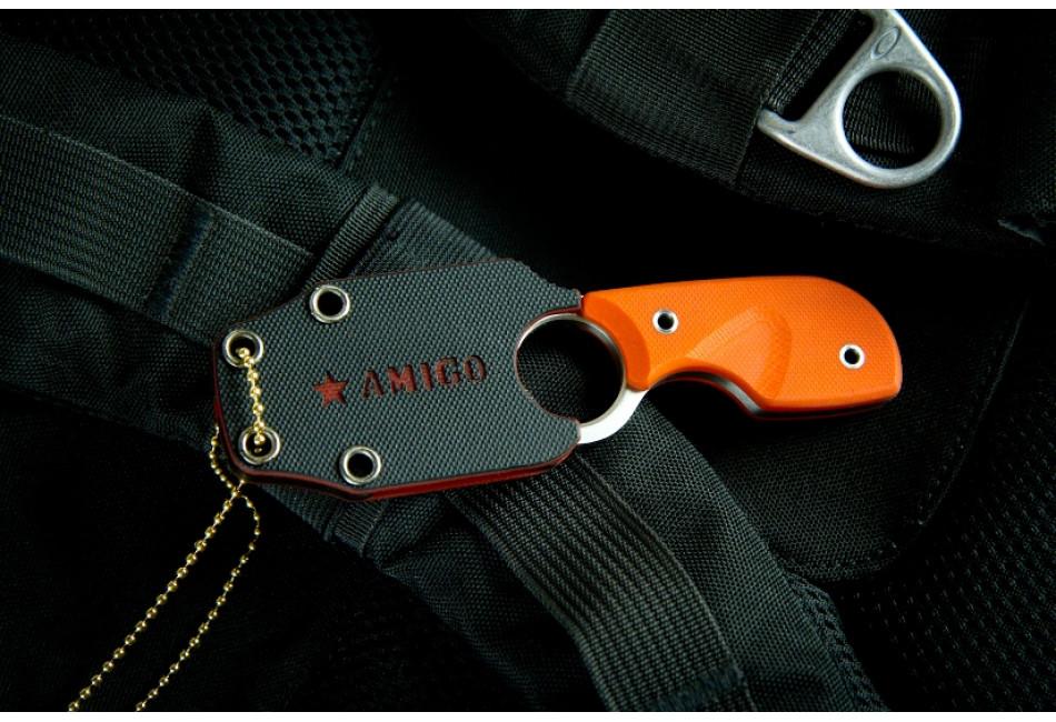 Шейный нож Amigo Z D Satin