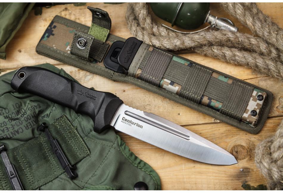 Нож Centurion AUS-8 Satin Camo