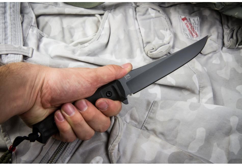 Нож Croc D2 Black Titanium