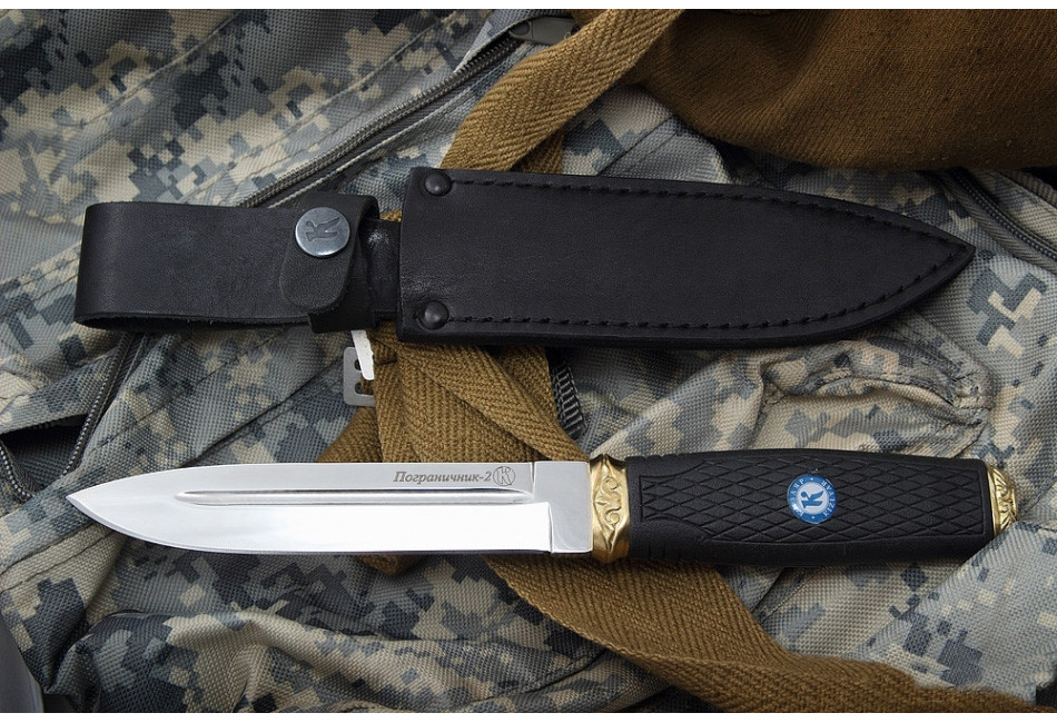 Нож Пограничник-2 AUS-8 Эластрон
