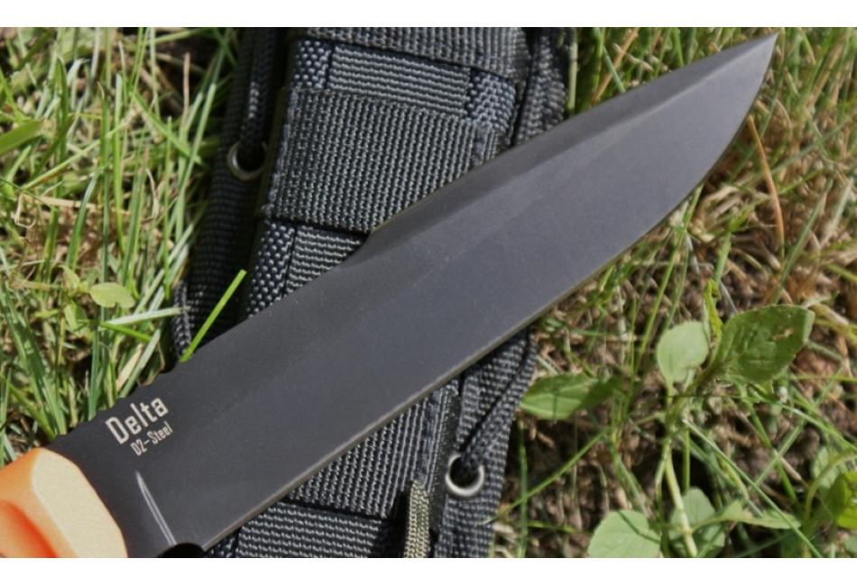 Нож Delta D2 Black Titanium OH