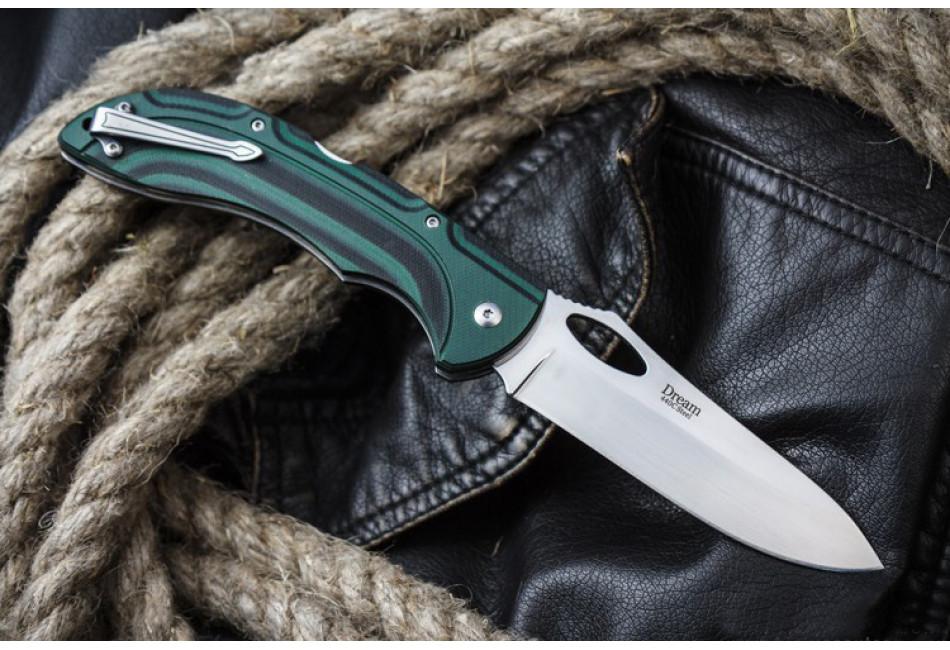 Складной нож Dream 440C Polished