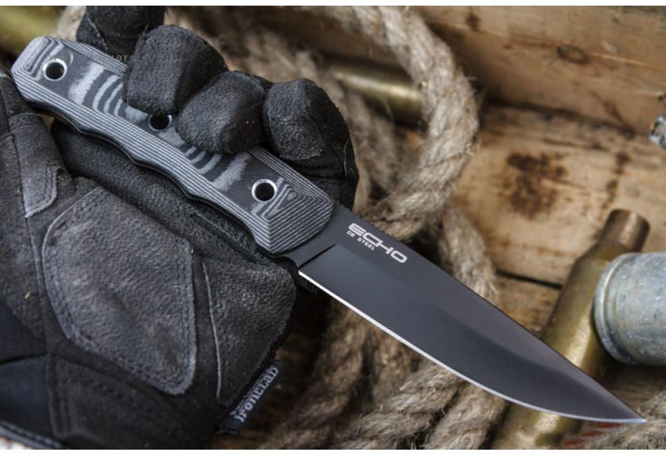 Нож Echo D2 Black Titanium