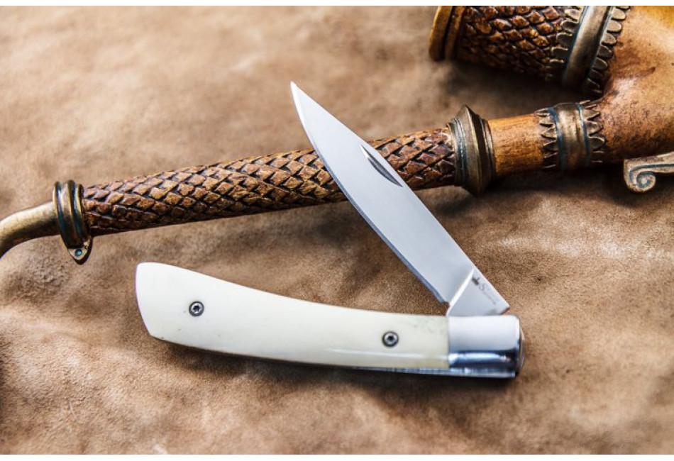 Складной нож Gent AUS-8 Polished