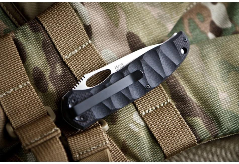 Складной нож Hero 440C Polished