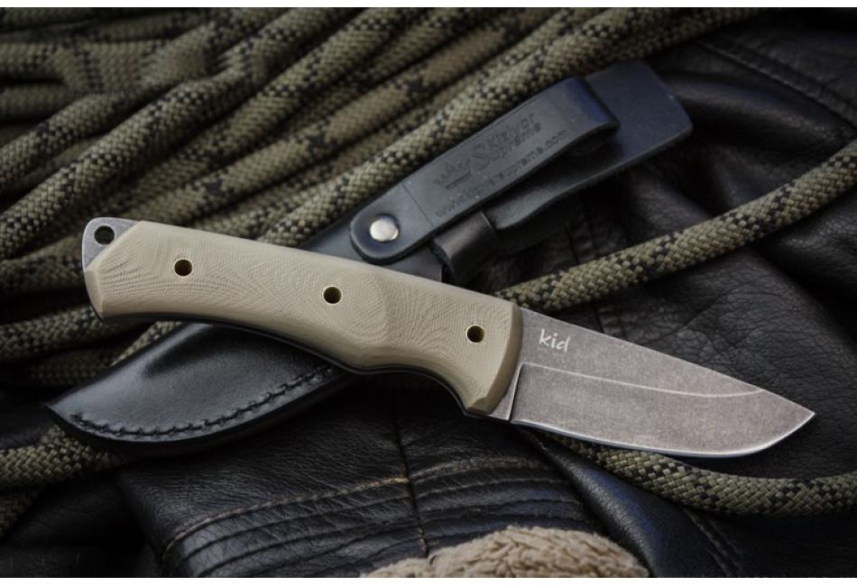 Нож KID 440C Stonewash