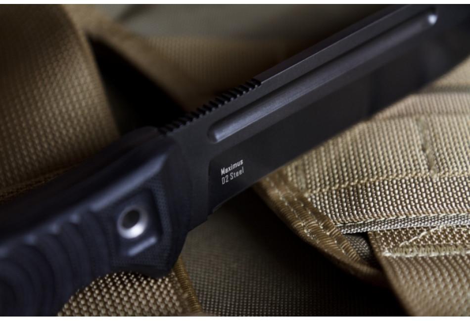Нож Maximus D2 Black Titanium