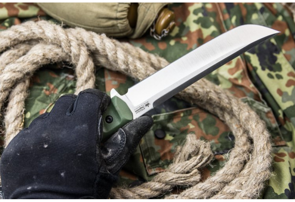 Нож Senpai AUS-8 Satin OH