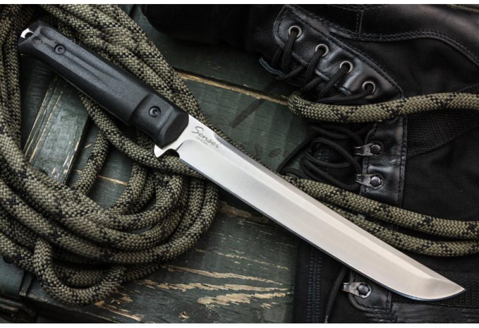 Нож Sensei D2 Satin