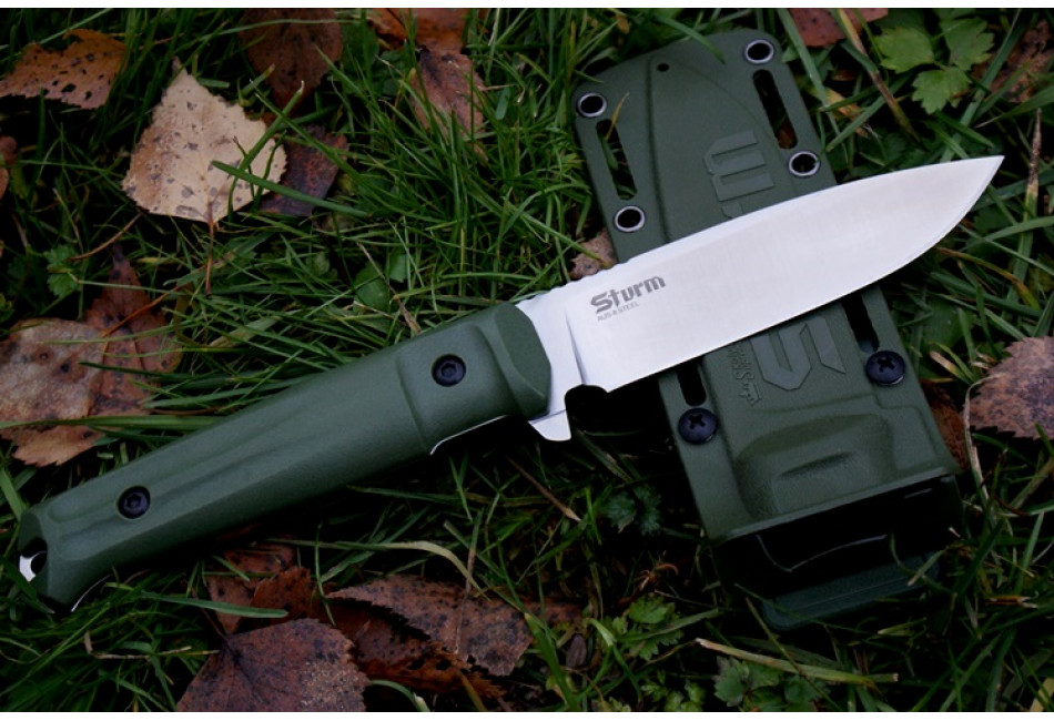 Нож Sturm AUS-8 Satin OH