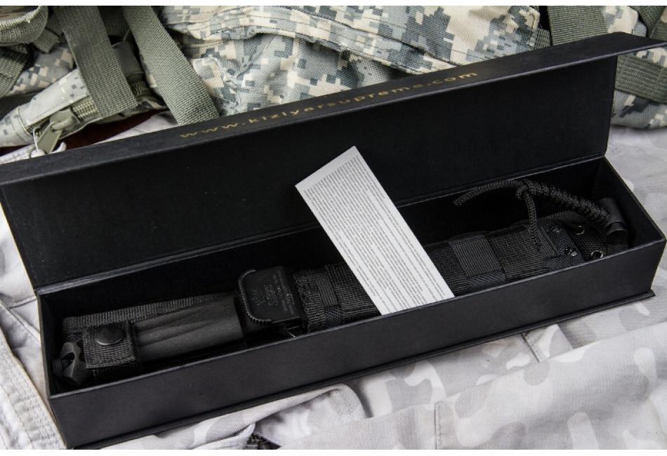 Нож Trident D2 Black Titanium