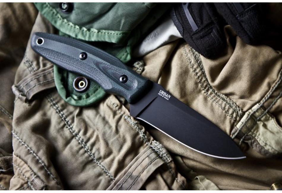 Нож Urban D2 Black Titanium