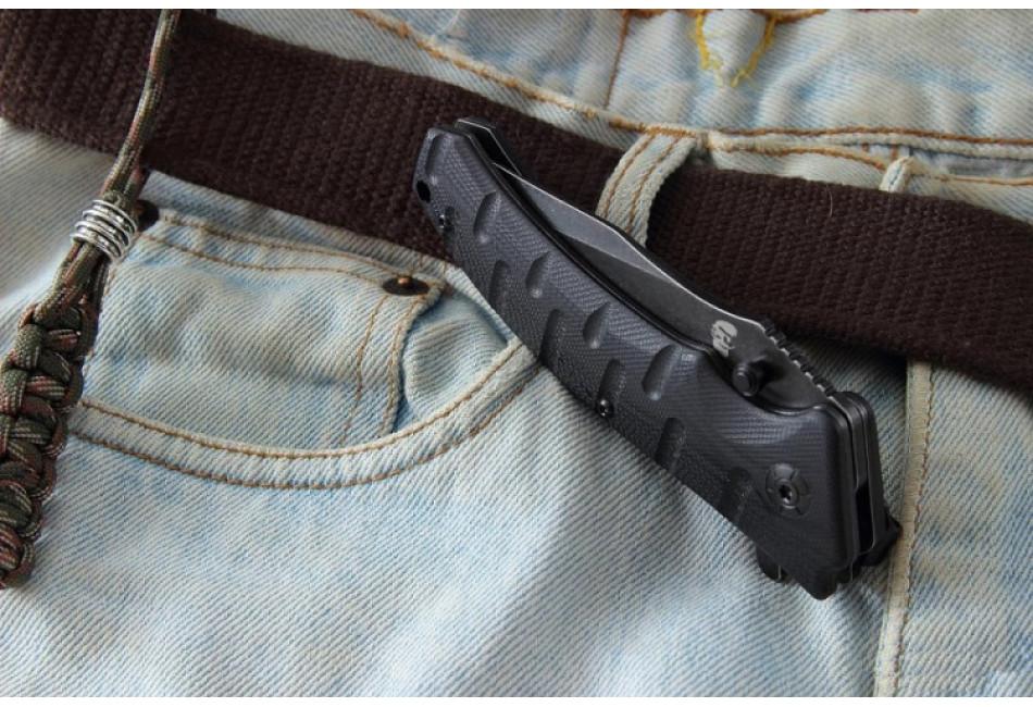 Складной нож Odra Black SW