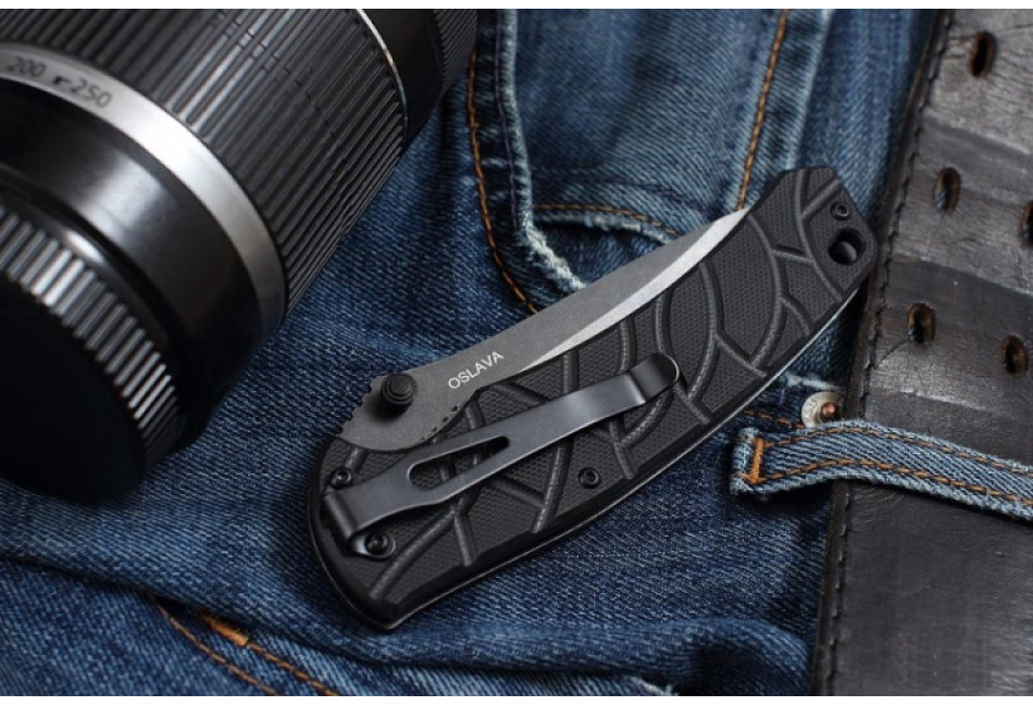 Складной нож Oslava Black