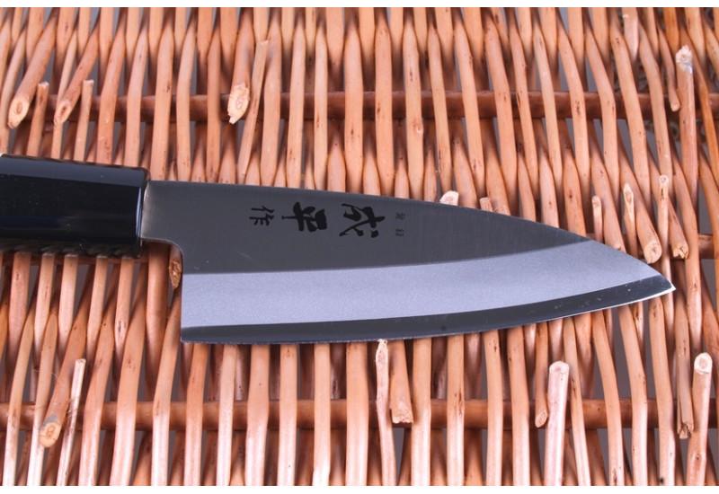 FC-70, Нож Деба мини Tojiro Narihira, 105 мм, сталь Sus420J2, рукоять дерево, #9000