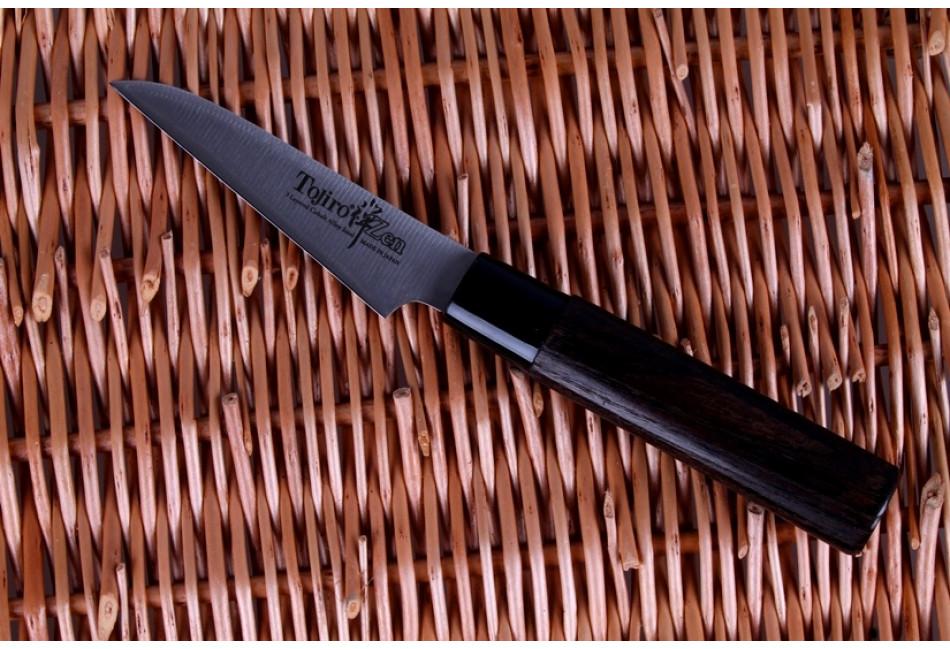 FD-561 Нож для овощей и фруктов Tojiro ZEN, 90 мм, сталь VG-10, 3 слоя