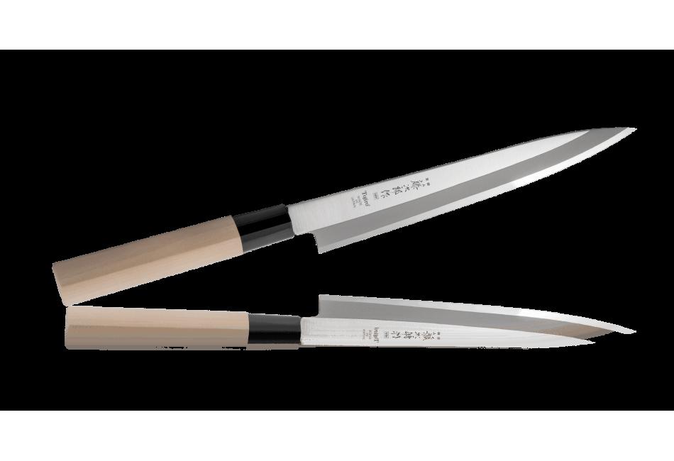 F-1056 Нож Янаги для сашими традиционный Tojiro Japanese Knife, 210 мм, сталь Мо-V