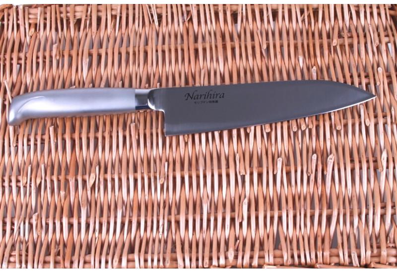 FC-62 Нож Сантоку Tojiro Narihira, 180 мм, сталь Mo-V, рукоять сталь, #5000