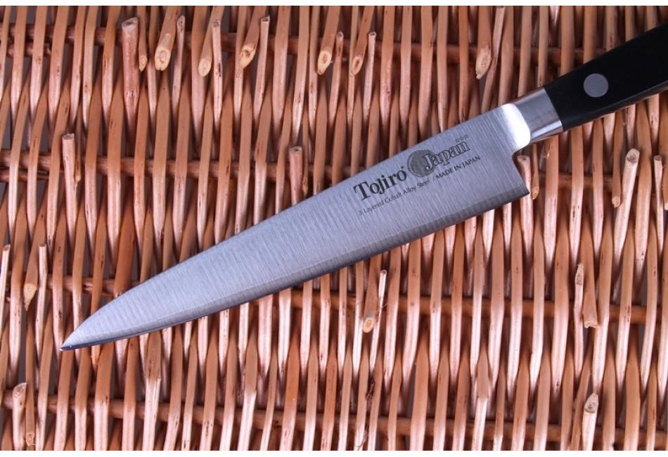 F-802 Нож универсальный Tojiro Western Knife, 150 мм, сталь VG10, 3 слоя