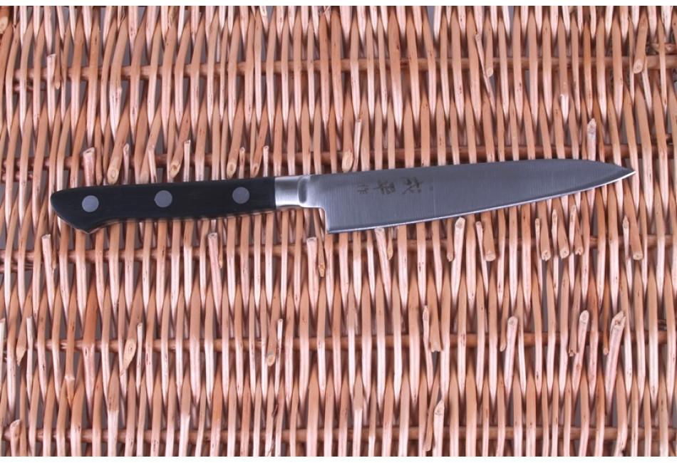 FC-40 Нож Универсальный Tojiro Narihira, 130 мм, сталь Mo-V, рукоять ABS пластик, #8000