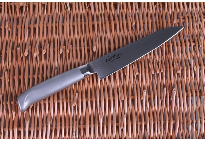 FC-60 Нож универсальный Tojiro Narihira, 150 мм, сталь Mo-V, рукоять сталь, #5000