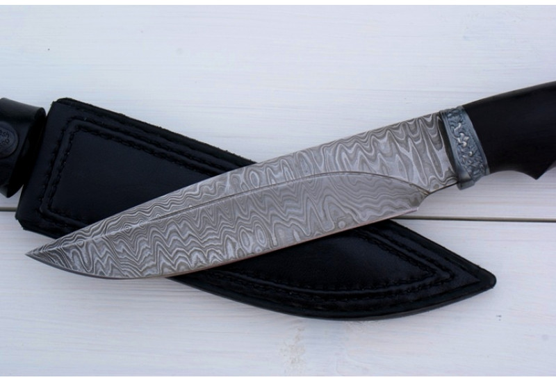 Нож Беркут-2 дамаск