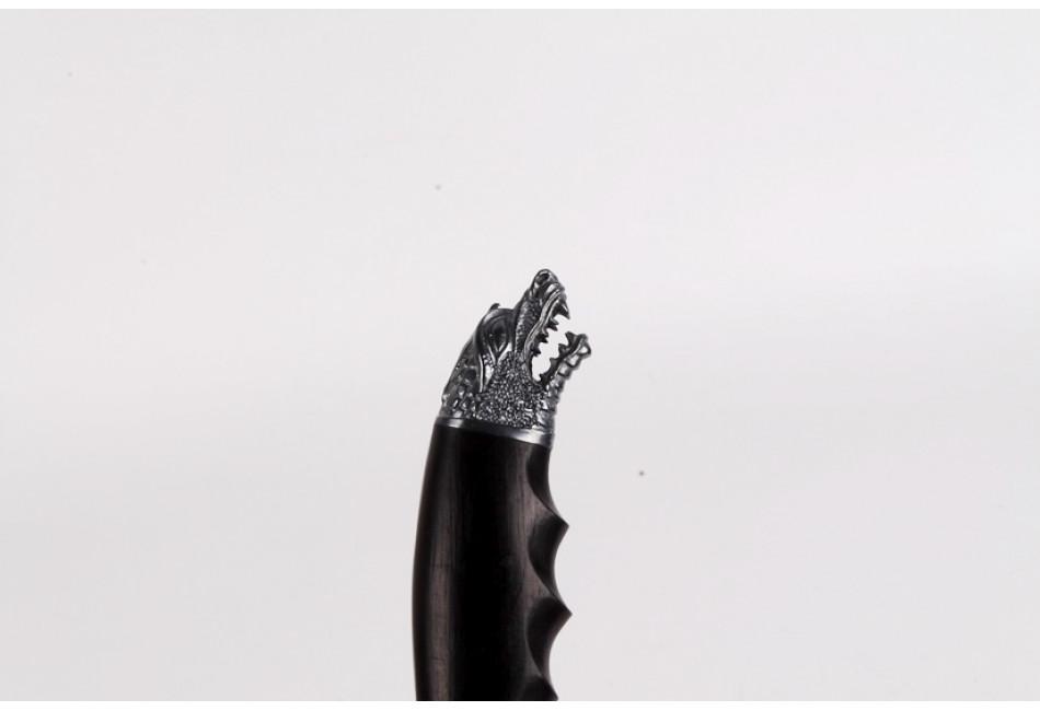 Нож Змей дамаск