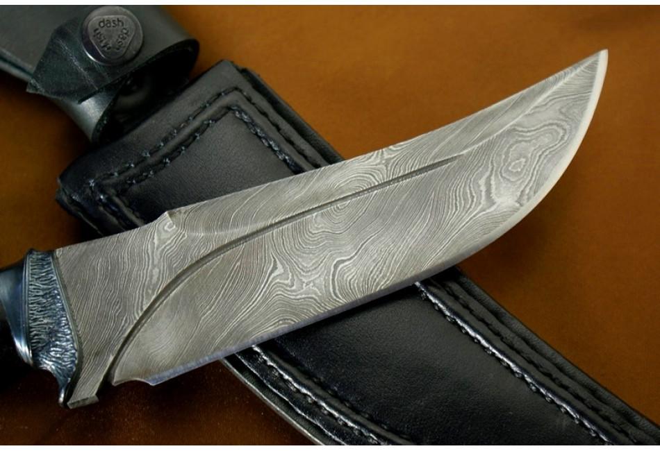 Нож Тур дамаск