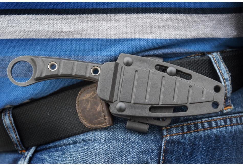 Нож Крот AUS-8 Stonewash