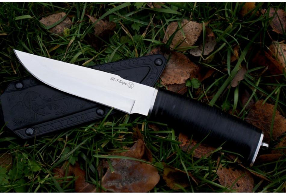 Нож Ш-5 Барс AUS-8 рукоять кожа