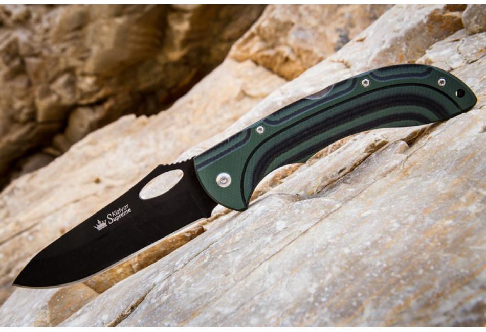 Складной нож Dream 440C Black Titanium