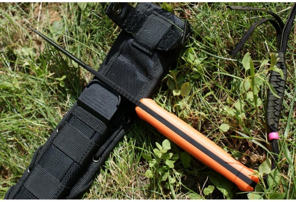 Нож Delta AUS-8 Black Titanium OH