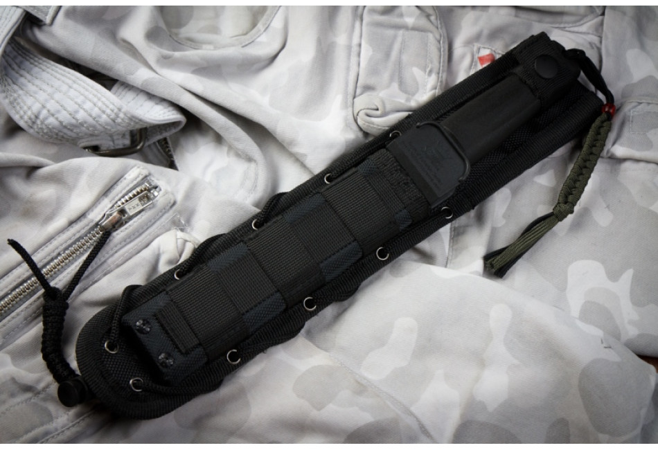 Нож Delta AUS8 Black Stonewash