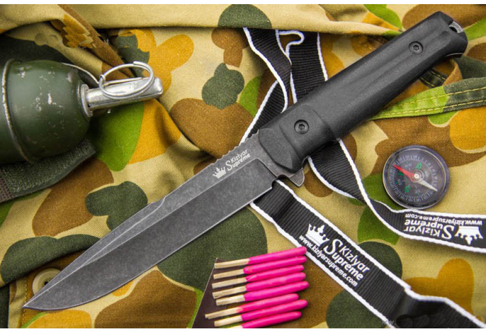 Нож Delta D2 Stonewash