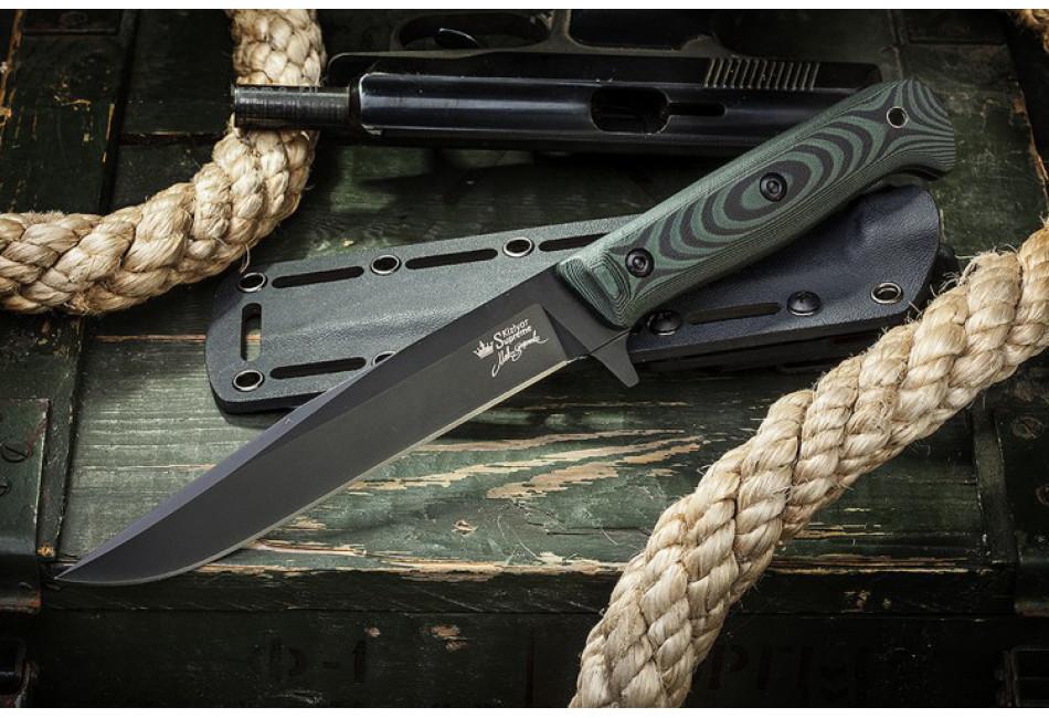 Нож Intruder D2 Black Titanium