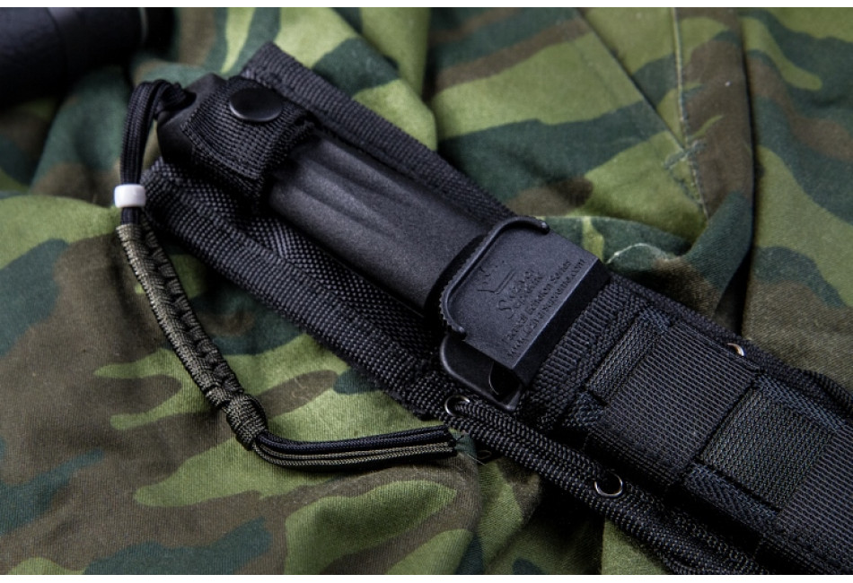 Нож Trident AUS-8 Black Titanium