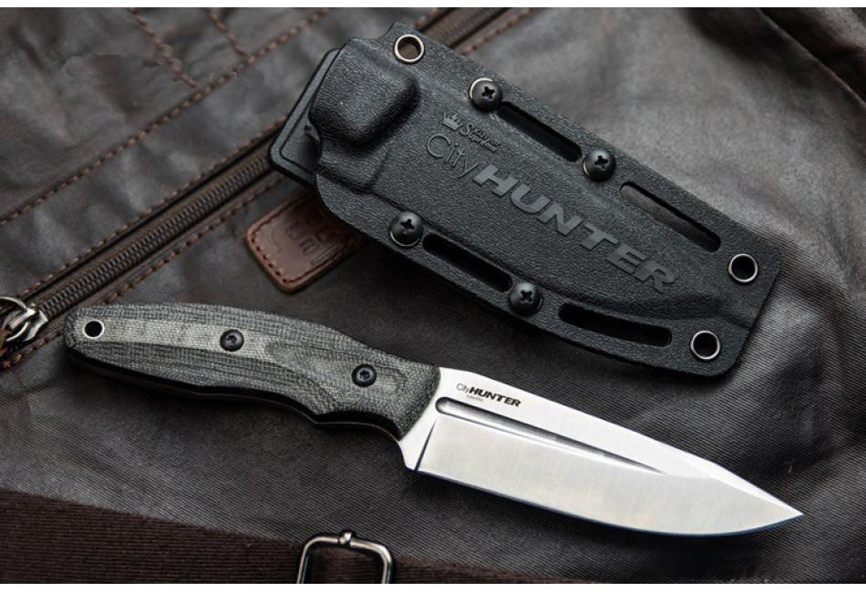 Нож City HUNTER AUS-8 Satin