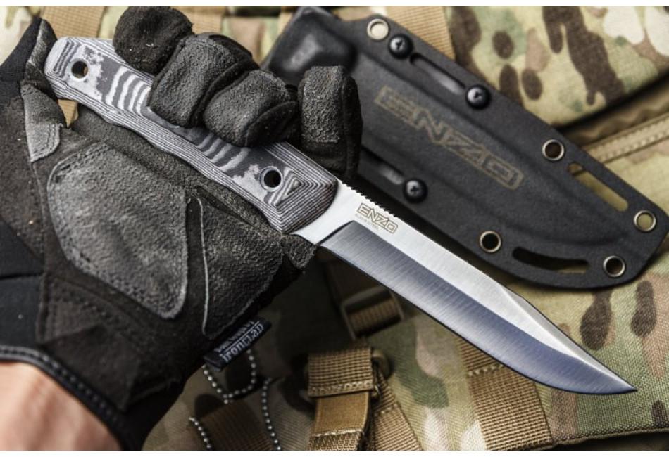 Нож Enzo AUS-8 Satin