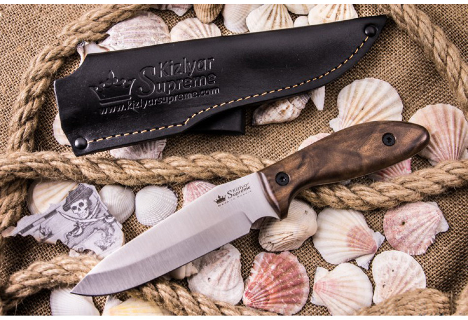 Нож Flint AUS-8 Satin