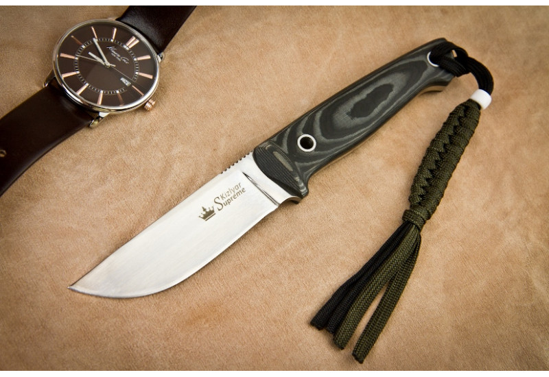 Нож Nikki AUS-8 Satin Kydex