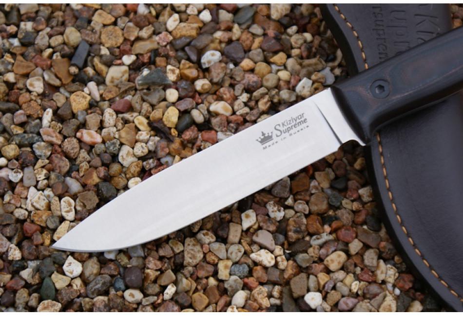 Нож Pioneer Sleipner Satin Red