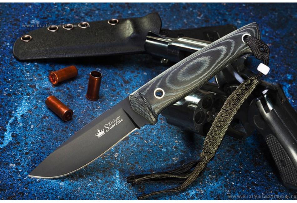 Нож Santi D2 Black Titanium