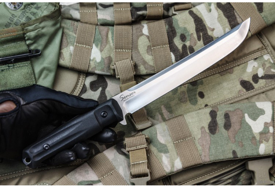 Нож Sensei AUS-8 Satin
